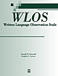 Written Language Observation Scale (WLOS) Image