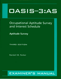 Occupational Aptitude Survey and Interest Schedule-Third Edition (OASIS-3): Aptitude Survey — Third Edition Image