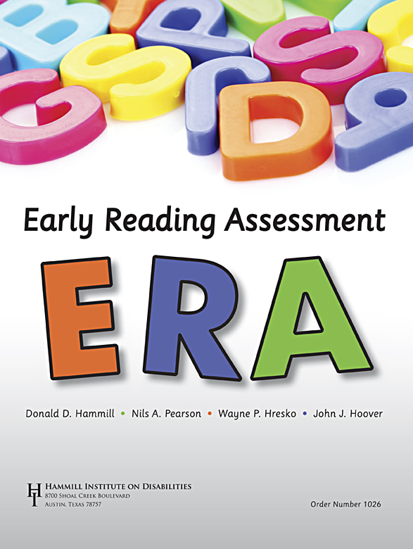 ERA: Early Reading Assessment Image