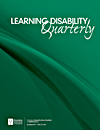 Learning Disability Quarterly (LDQ) Image